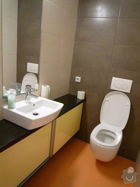 Rekonstrukce a interier bytu: wc