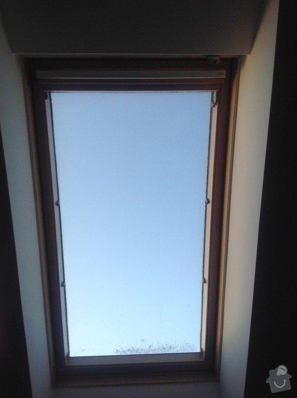 Oprava vnitrnich zaluzii u stresnich VELUX oken: image