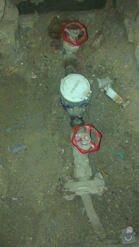 Výměna nefunkčního ventilu/kohoutu na přívod vody: kohout