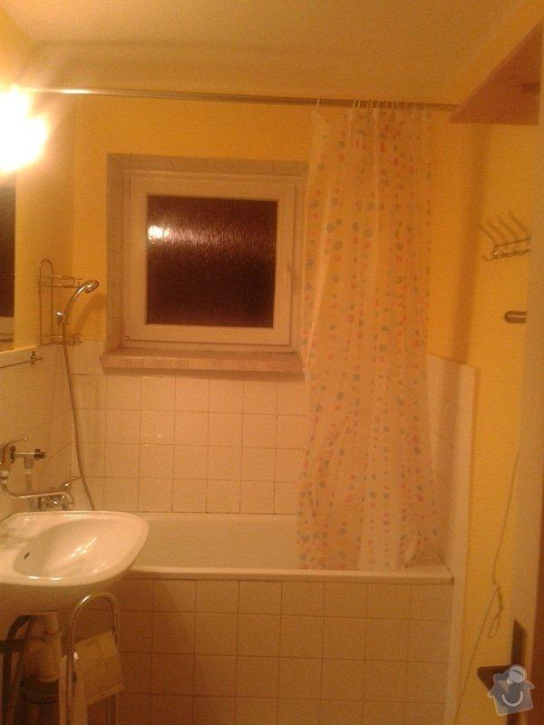 Částečná rekonstrukce bytu: Koupelna_I