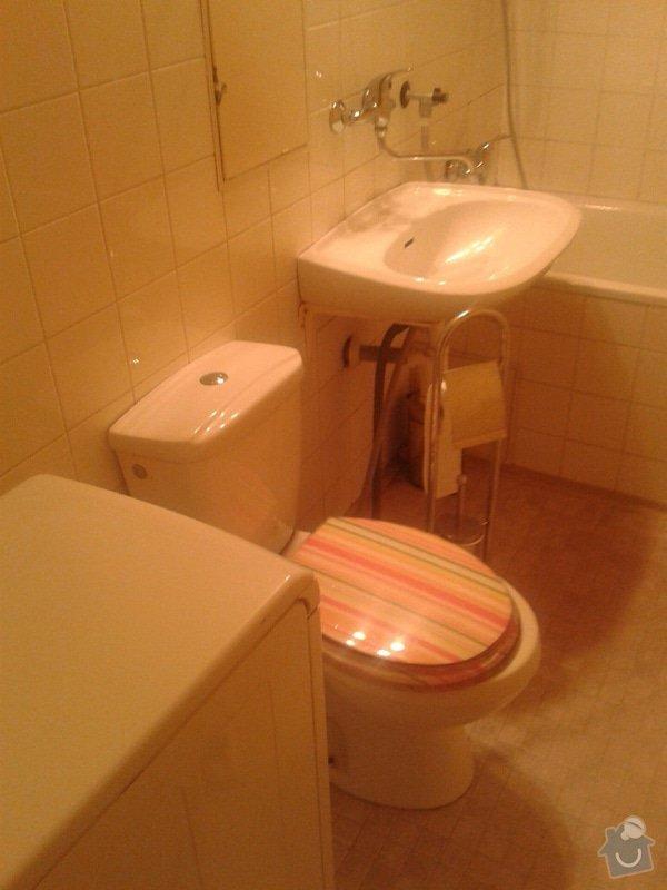Částečná rekonstrukce bytu: Koupelna_II