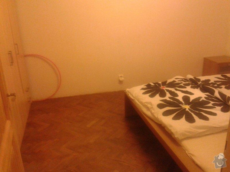 Částečná rekonstrukce bytu: Parkety_v_loznici
