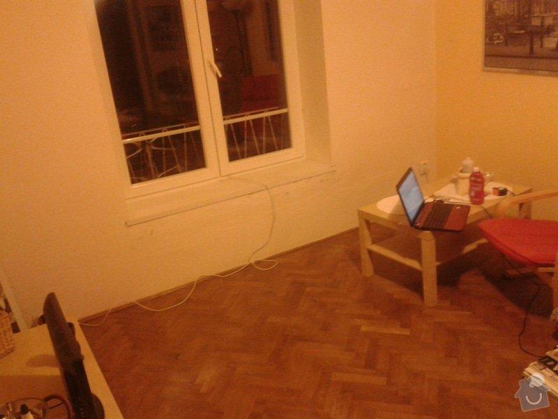 Částečná rekonstrukce bytu: Parkety_v_obyvaku