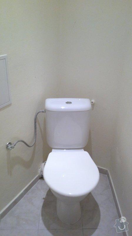 Montáž, připojení závěsného wc: 2014-01-15-1036