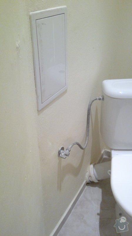 Montáž, připojení závěsného wc: 2014-01-15-1037