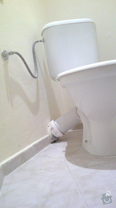 Montáž, připojení závěsného wc: 2014-01-15-1039
