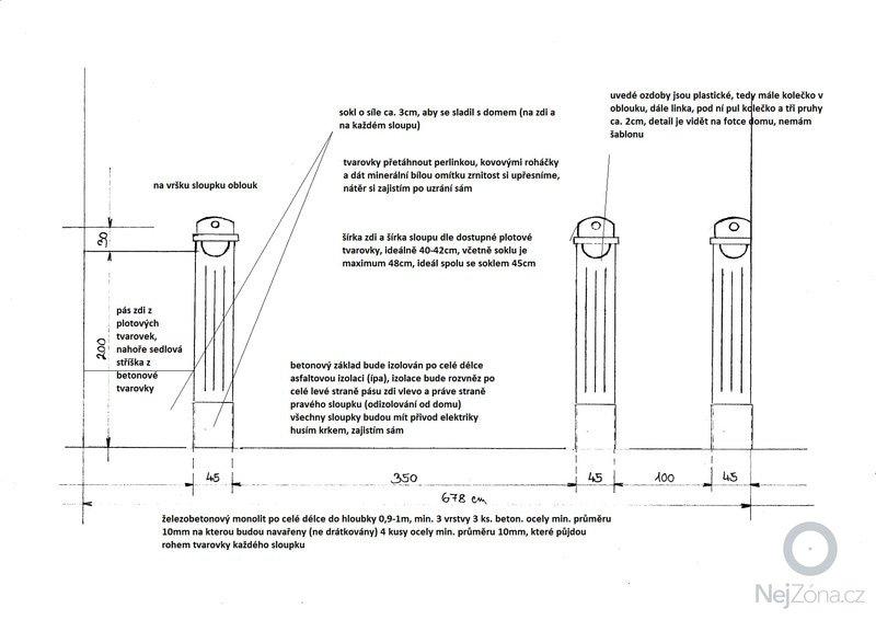 Položení 48m2 vymývané dlažby do betonu plus stavba sloupu a části plotu se štukovými prvky o délce 6,8m: 02_stavebni_upravy_vjezd_planek