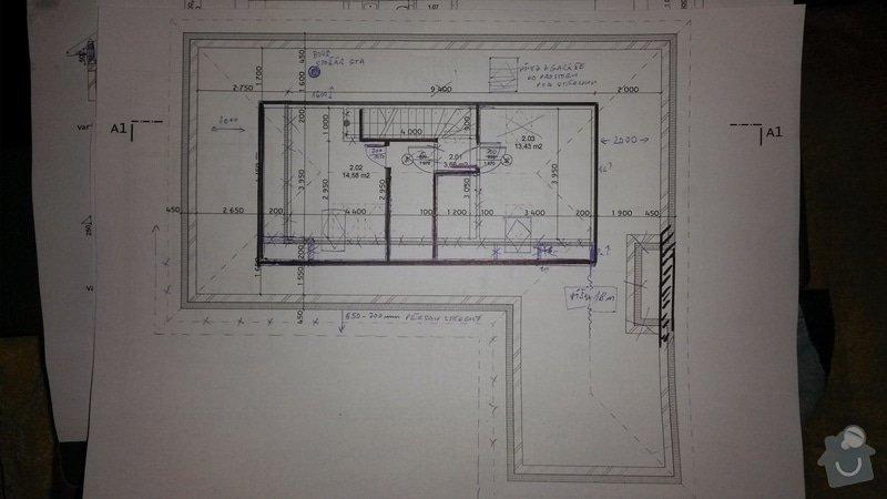 Zemní práce, betonování základové desky: 2NP_2