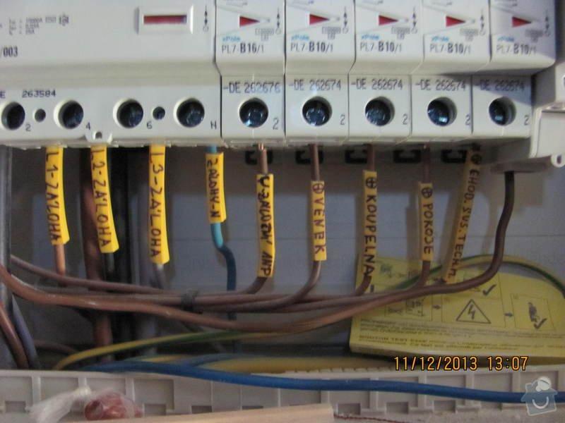 Revize elektro novostavby: BR3_1_3_