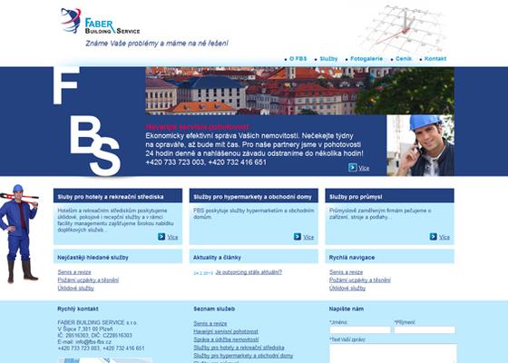 Webová prezentace www.fbs-fbs.cz