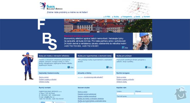 Webová prezentace www.fbs-fbs.cz: fbs-fbs.cz