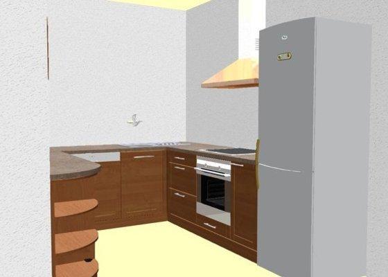 Vestavěná kuchyň na míru