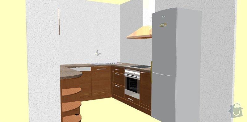 Vestavěná kuchyň na míru: 1