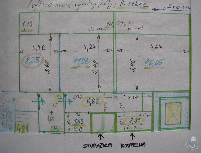 Rekonstrukce koupelny: planek_bytu