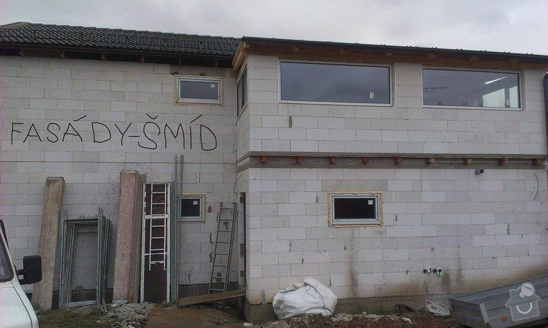 Zhotovení zateplovací fasády: IMAG0391