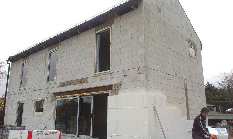 Zhotovení zateplovací fasády: IMAG0392
