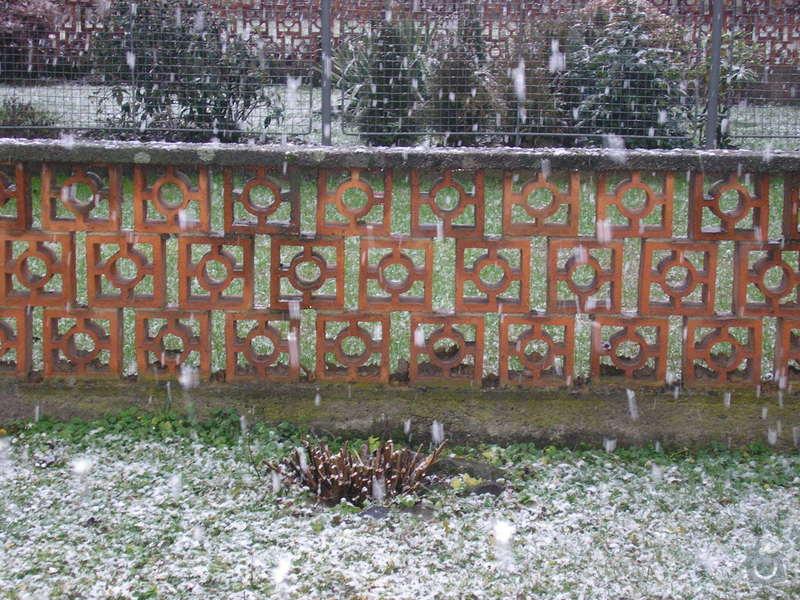 Na jaře postavit zídku - plot: P1010391