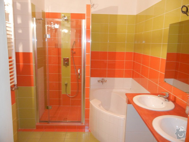 Rekonstrukce koupelny a kuchyně: DSCN1693