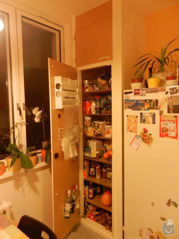 Potravinová skříň v kuchyni: DSCN0259