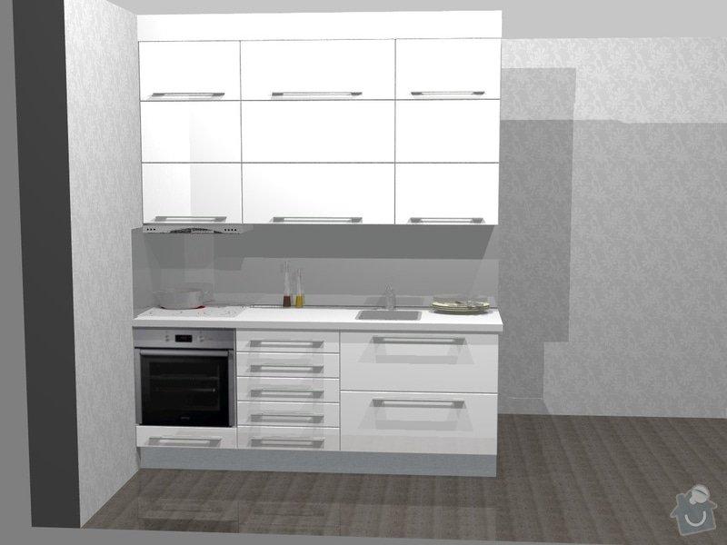 Kuchyňská linka - výroba, montáž: 41365-1_Pov