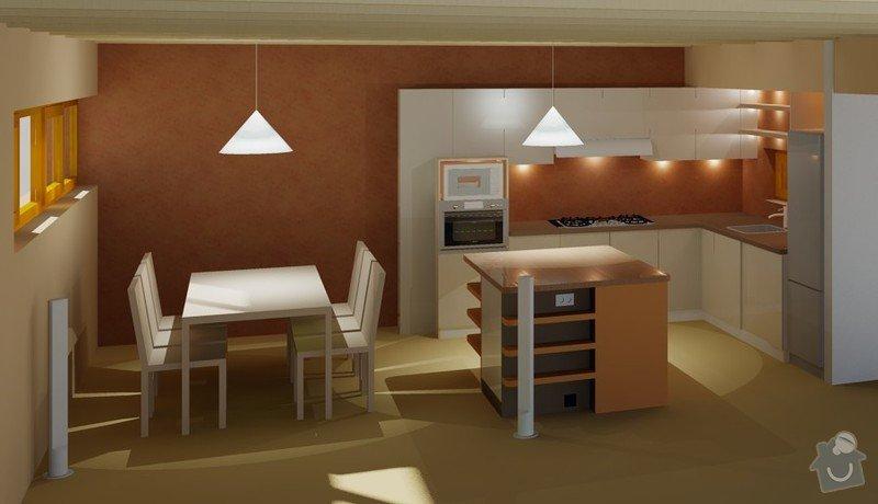 Rodinný dům: navrh_kuchyne