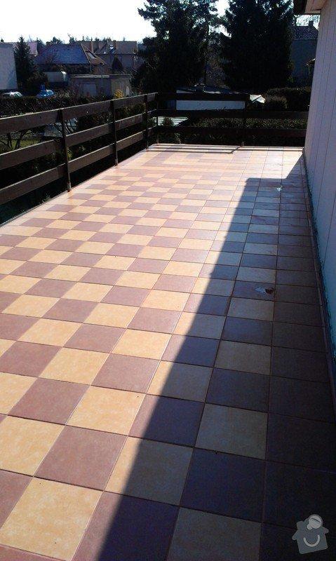 Pokládka dlazby na balkon: IMAG0246