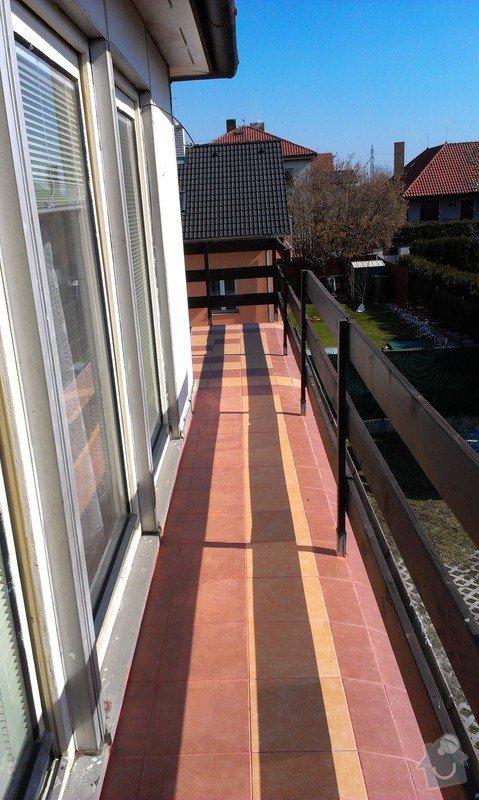 Pokládka dlazby na balkon: IMAG0247