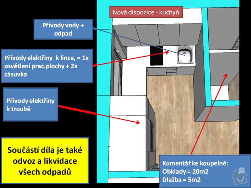 Kompletní rekonstrukce bytu 1+1: Obrazek5
