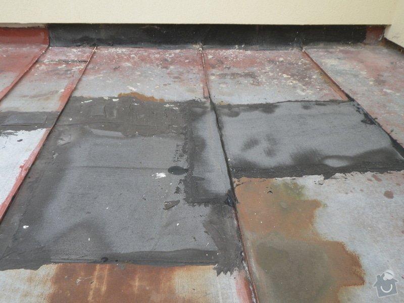 Oprava ploché střechy: IMGP0980