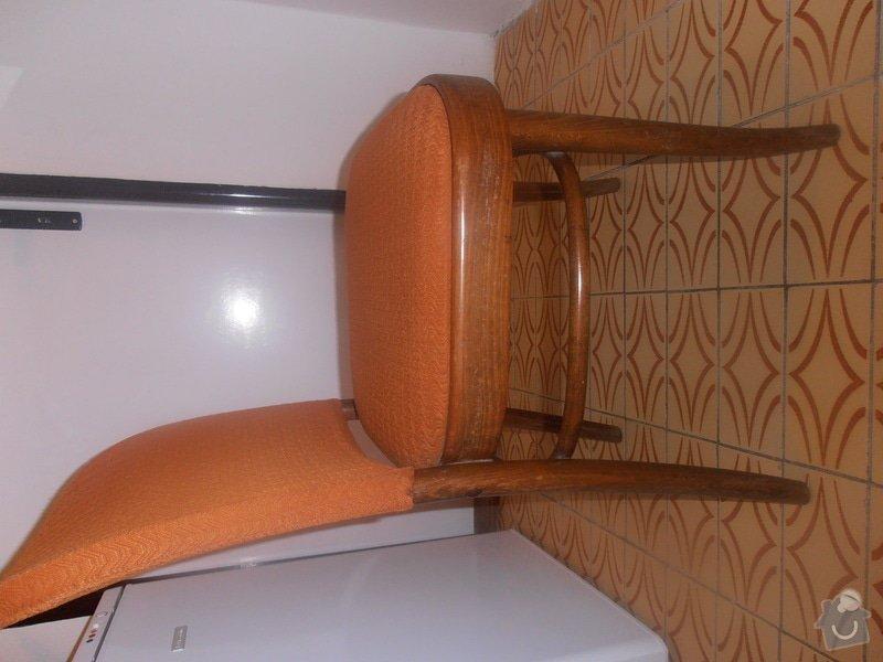 Renovaci  a čalounění židlí: P1220445