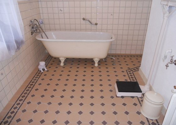 Koupelna zednik