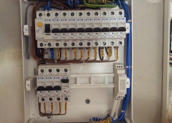 Výměna elektroinstalace v bytě 3+1