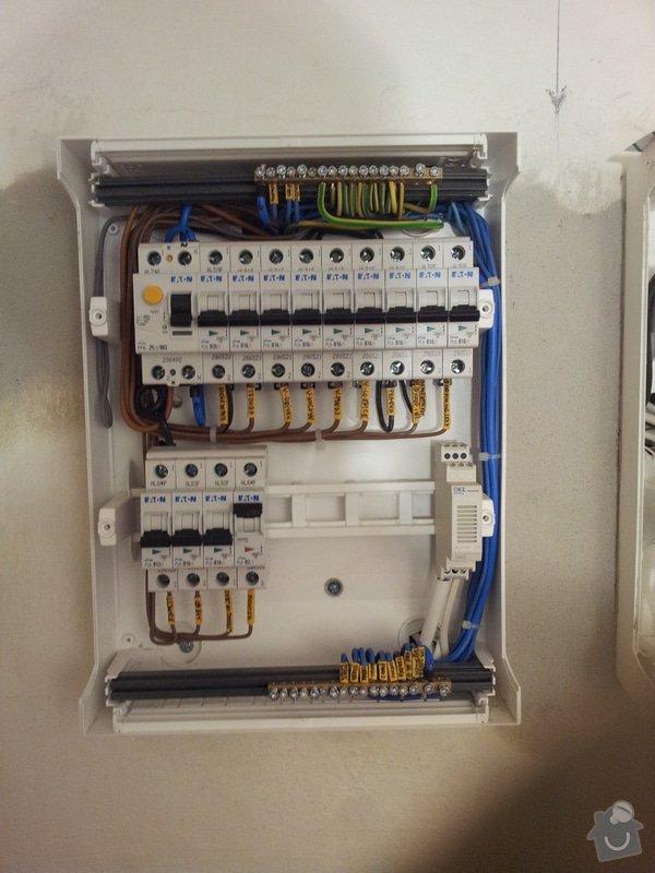 Výměna elektroinstalace v bytě 3+1: pramen_1