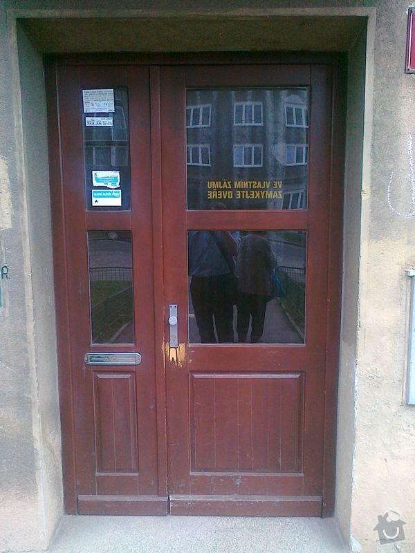 Oprava domovnich drevenych dveri: 17042013053