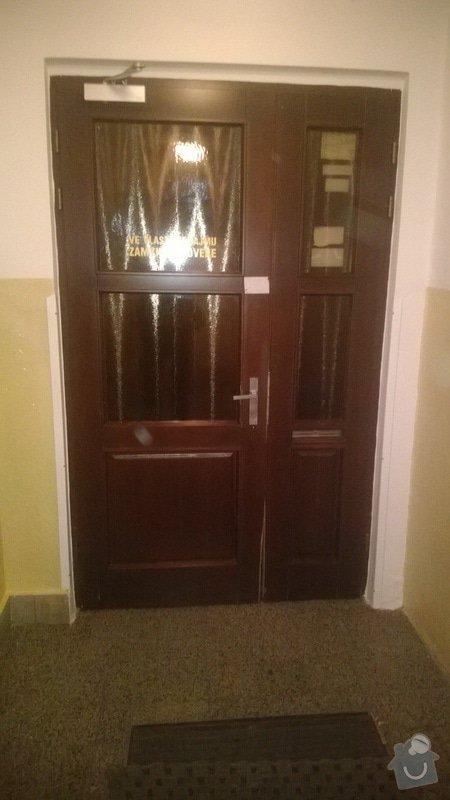 Oprava domovnich drevenych dveri: WP_20131031_013
