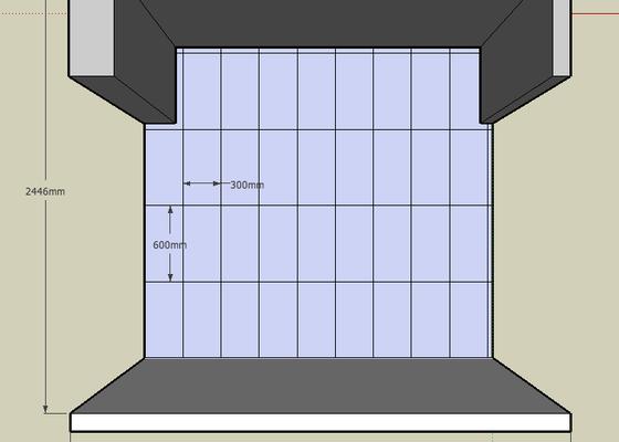 Obkladačské práce (2 místnosti)