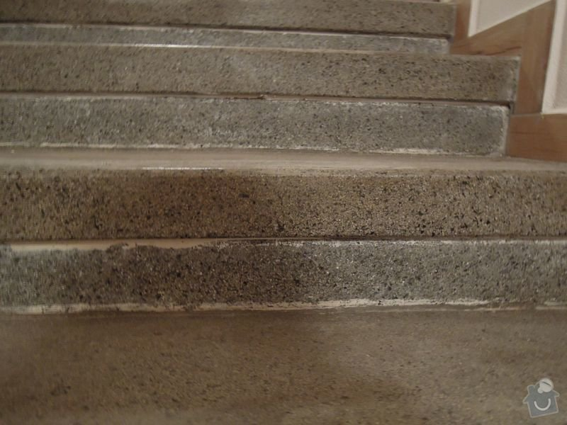 Cisteni kamennych schodu: DSCN2837