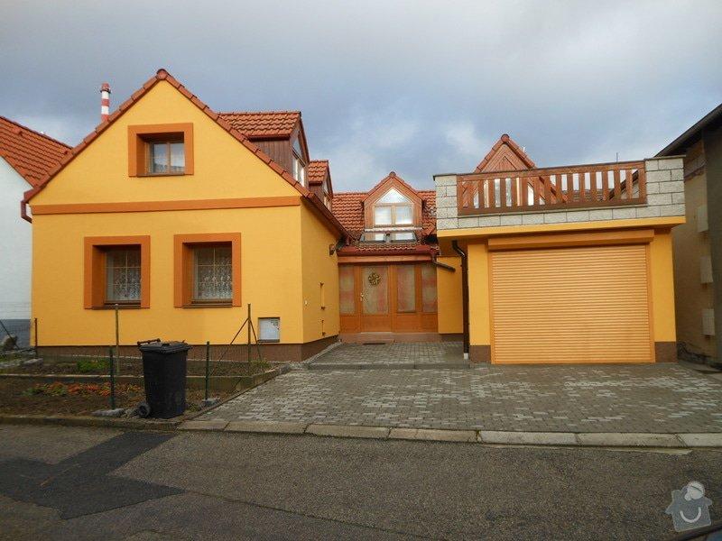Zateplení a povrchová úprava fasády rodinného domu: DSCN0456