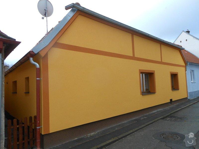 Zateplení a povrchová úprava fasády rodinného domu: DSCN0460