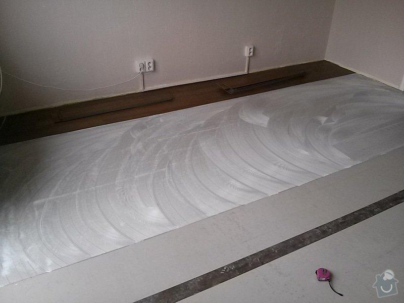 Nová podlaha do obýváku: CAM00078