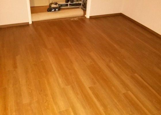 Nová podlaha do obýváku