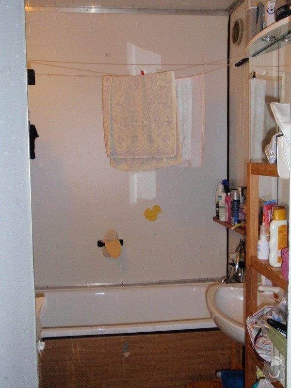 Rekonstrukce koupelny bytového jádra: koupelna