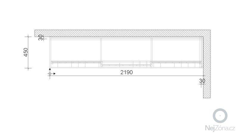 Skříňku nad pracovní stůl: sachova_lucie_-_po_zamereni_-_pudorys