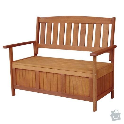Zahradní lavice s úložným prostorem: ZNEMEO290