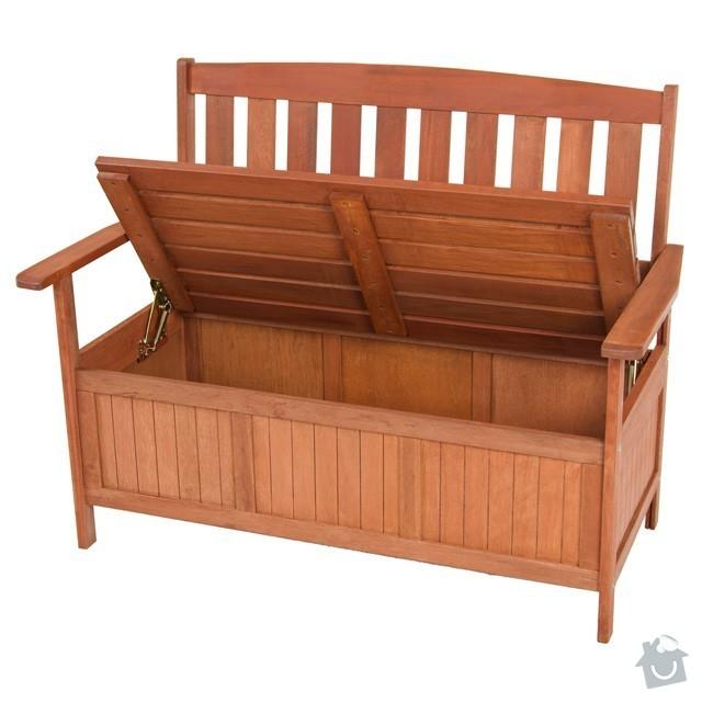 Zahradní lavice s úložným prostorem: ZNEMEO290_2