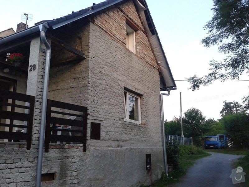 Zateplení a fasadu rodinného domku: Fotografie-0269