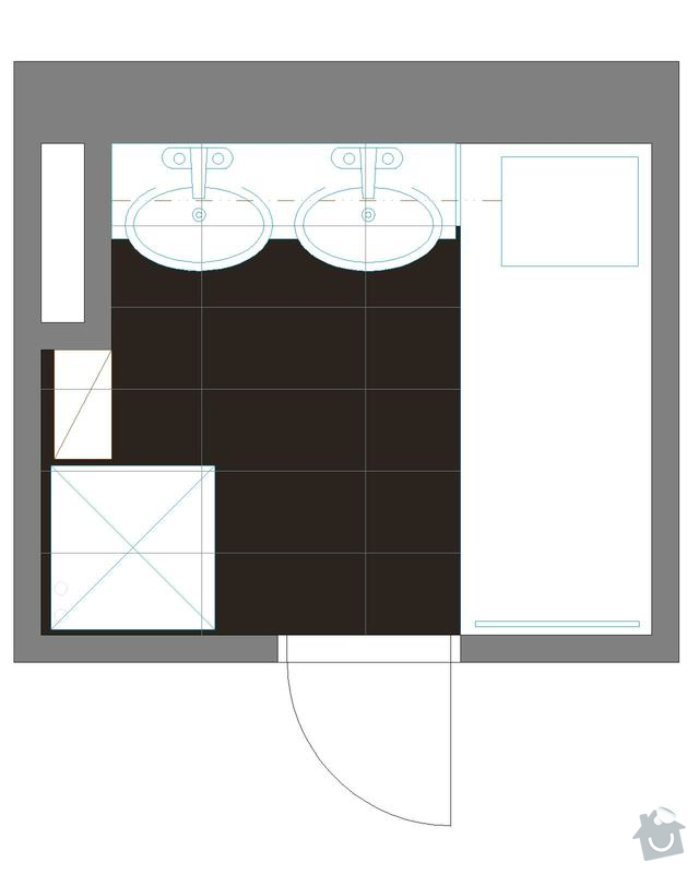 Rekonstrukce koupelny a záchodu: Koupelna_po_rek