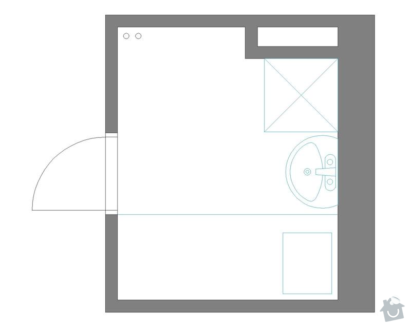Rekonstrukce koupelny a záchodu: koupelna_Stavajici_STAV