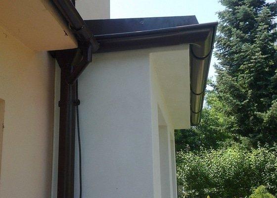 Klempířské práce na verandě - střecha 3x3m