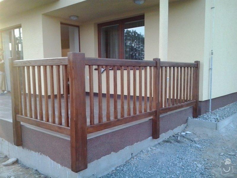 Dřevěné zábradlí na terasu: 2013-06-19_20.03.52